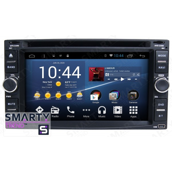 Штатная магнитола Smarty Trend для Nissan Patrol 2003-2009 - Android 8.1 (9.0)