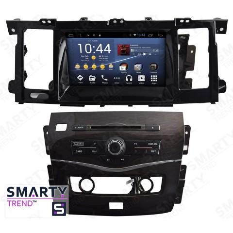 Штатная магнитола Smarty Trend ST3P2-516P9695 для Nissan Patrol 2015+ на Android 7.1.2 (Nougat)