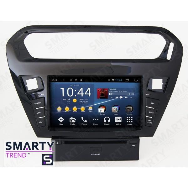 Штатная магнитола Smarty Trend для Peugeot 301 - Android 8.1 (9.0)