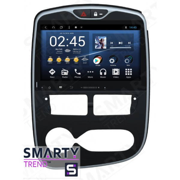 Штатная магнитола Smarty Trend для Renault Clio 2012-2018 Manual - Android 8.1 (9.0)