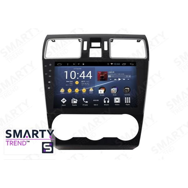 Штатная магнитола Smarty Trend для Subaru Impreza - Android 8.1 (9.0)