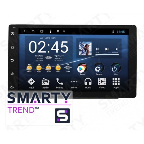 Штатная магнитола Smarty Trend для Toyota C-HR - Android 8.1 (9.0)