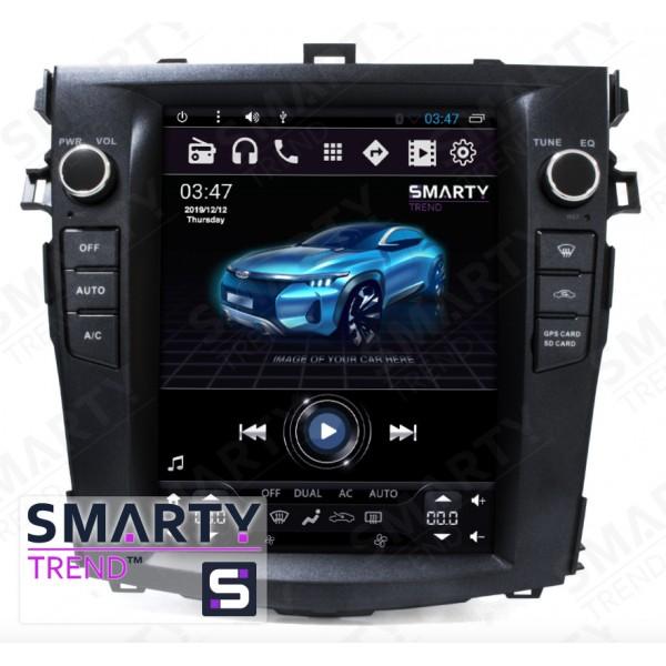 Штатная магнитола Smarty Trend для Toyota Corolla 2007-2013 (Tesla Style) - Android 6.0