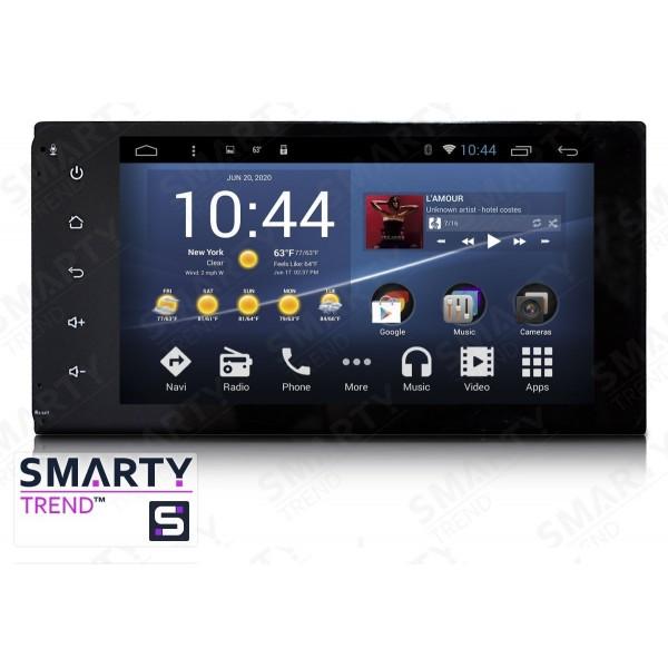 Штатная магнитола Smarty Trend для Toyota Fortuner 2005-2010 - Android 7.1