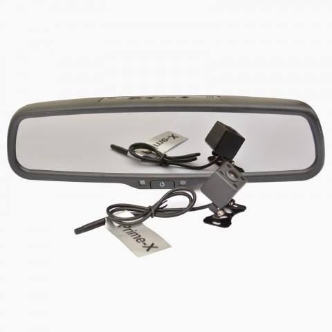 Зеркало с видеорегистратором Prime-X S300 Full HD штатное (с креплением)
