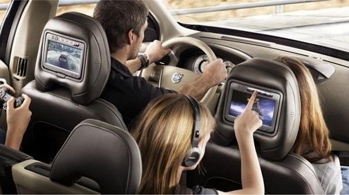 Развлечения в дороге для всей семьи с магнитолами для 2-DIN Universal Smarty Trend