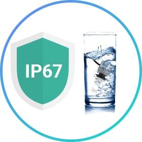 Абсолютная воднонепроницаемость IP67